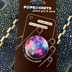 2/$12 or $9 each - Galaxy Popsocket, NWT